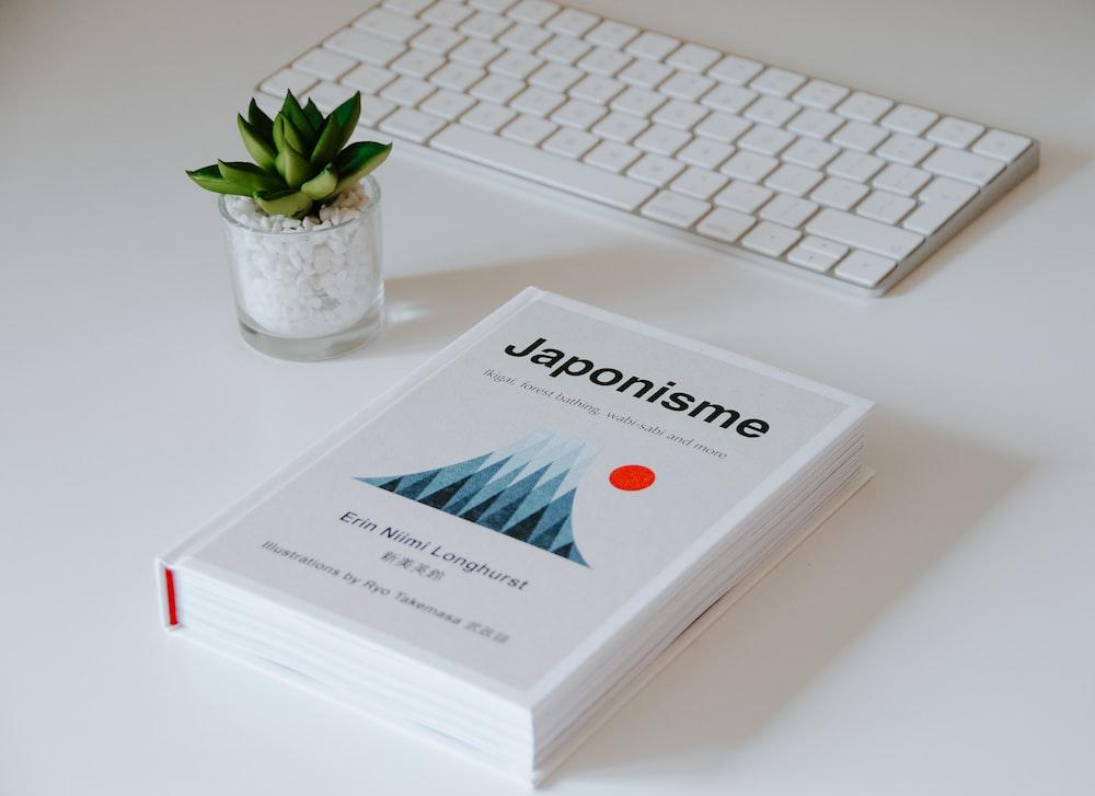 white Japonisme book