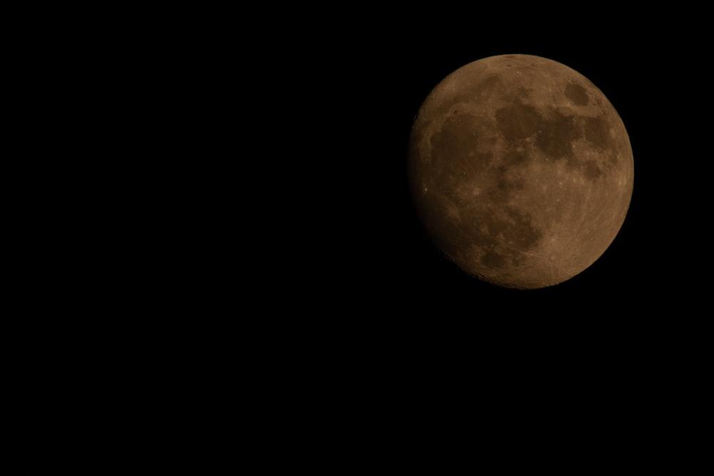 brown moon photo