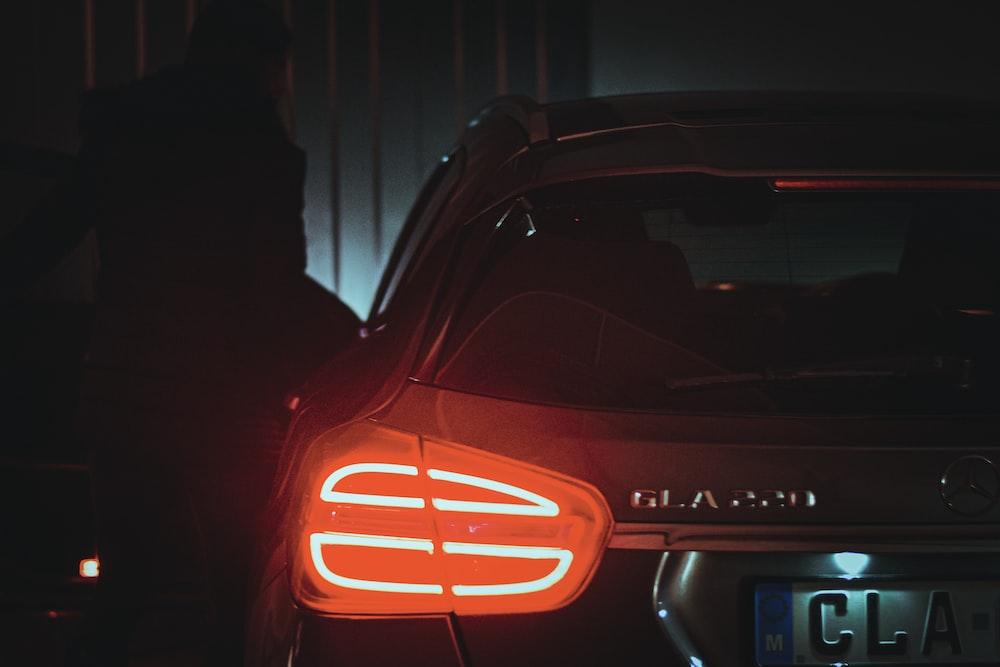 gray Mercedes-Benz GLA220