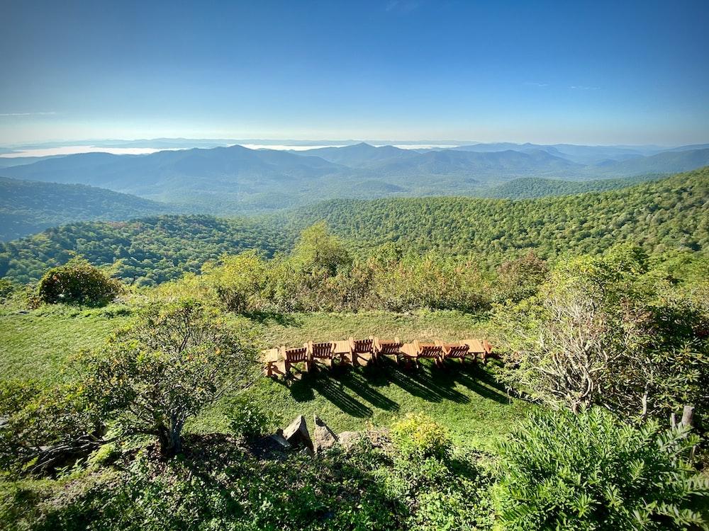 green moutnain scenery