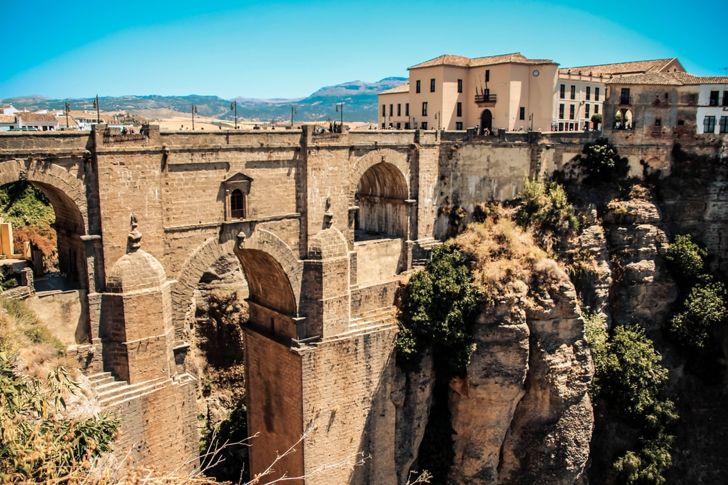 A snippet of Puente Nuevo: Things to do in Ronda