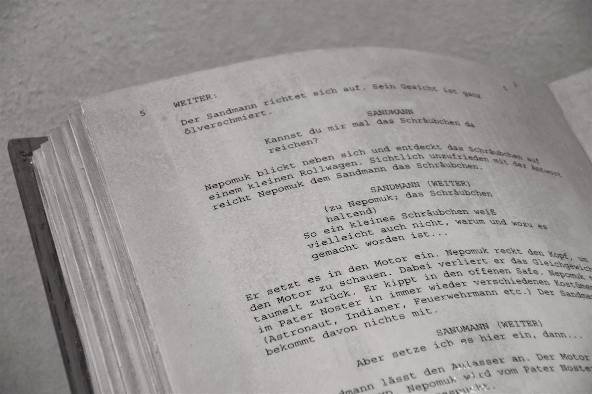 how to write a script, script writing, screenplay format, video game script, script format