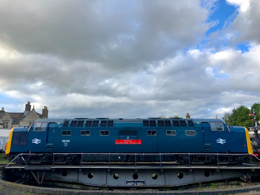 Diesel train, Nene Valley Railway, Cambridgeshire, UK