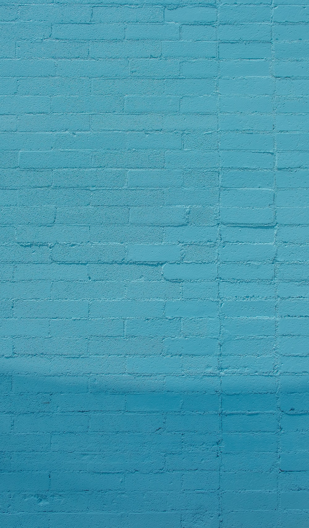 blue wall bricks