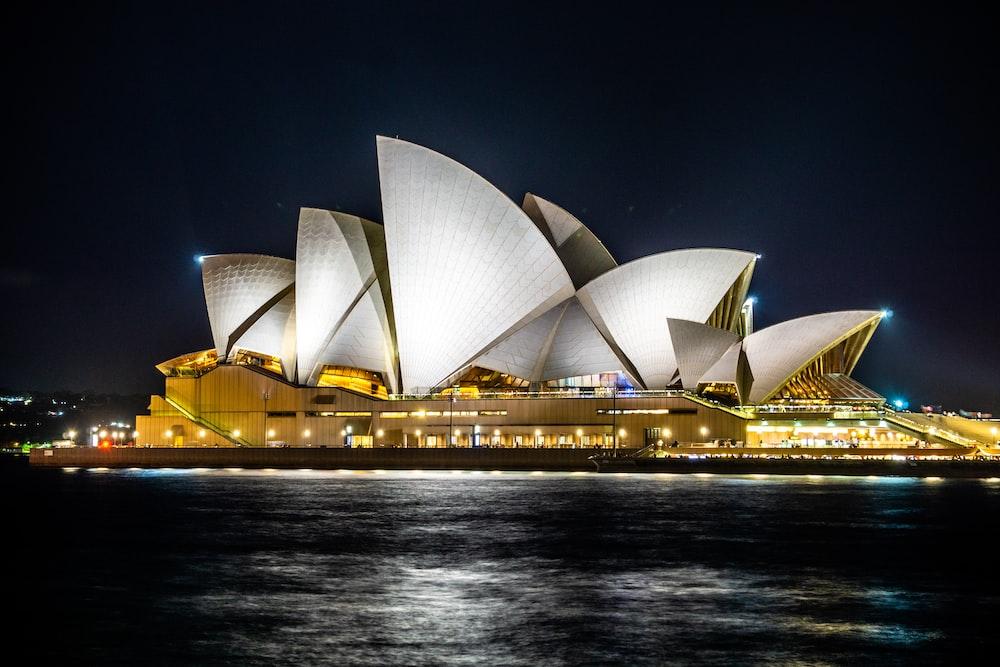 white Opera House