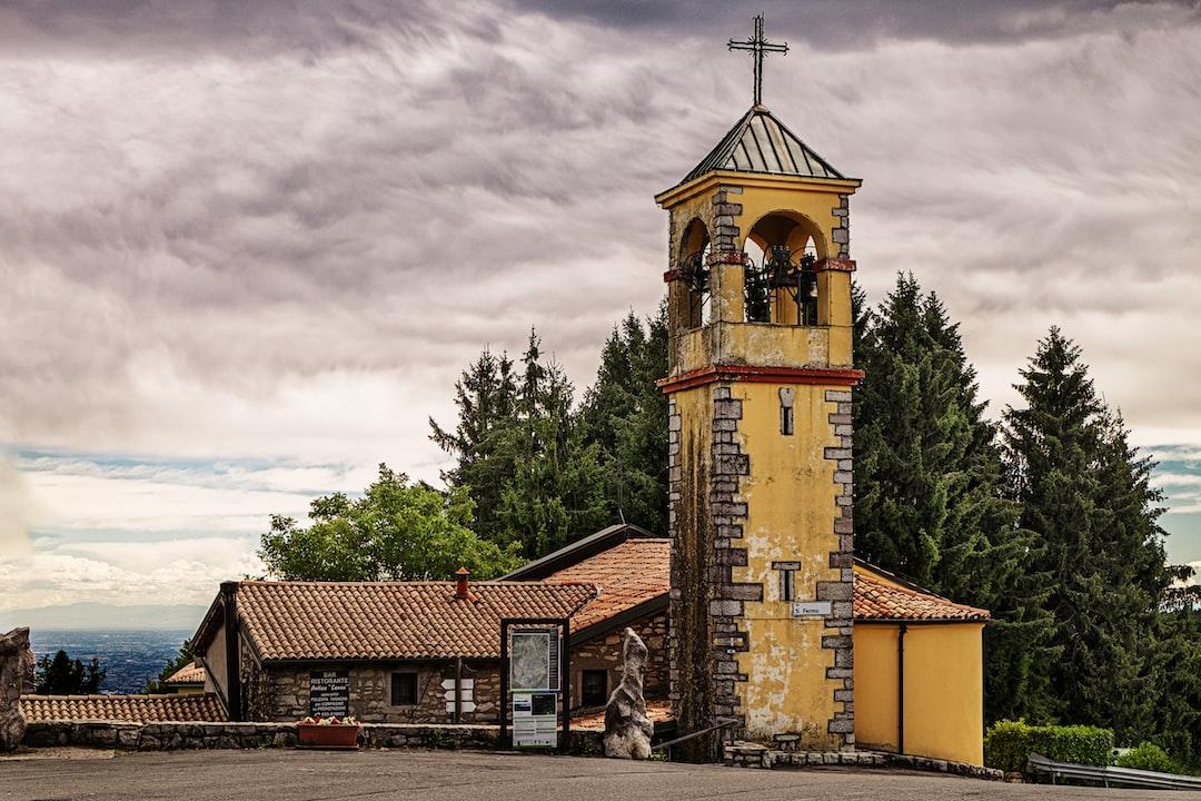 Church of San Fermo village on Bergamo province - Italy