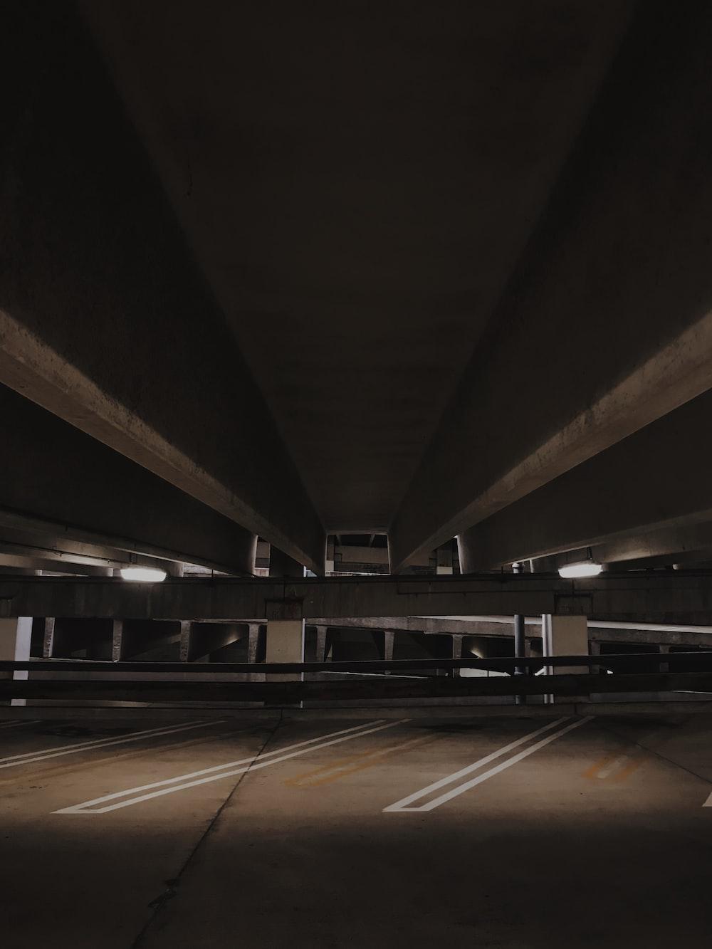 underground vehicle parking lot