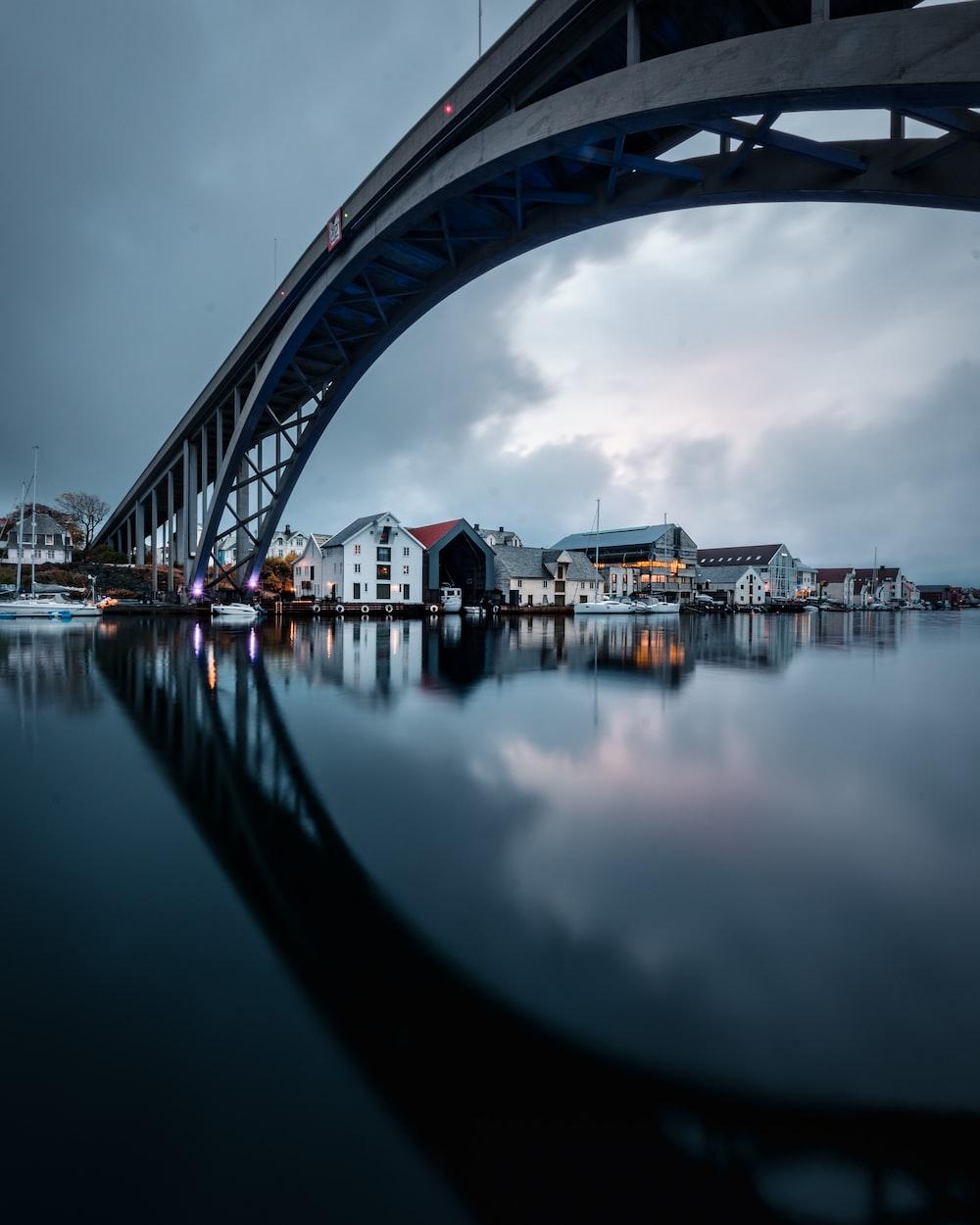 black and gray bridge bridge