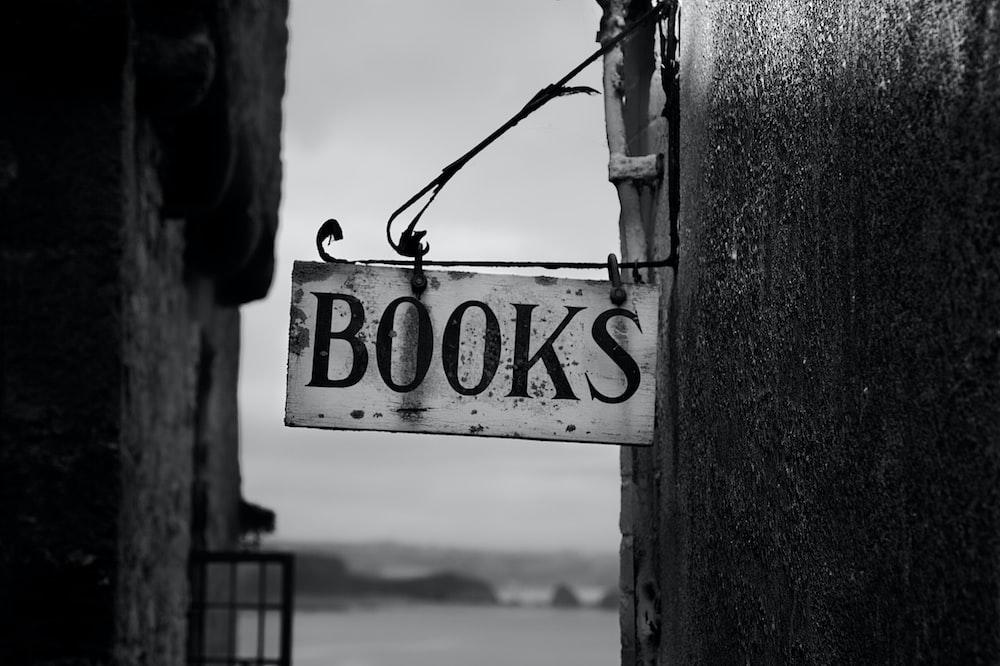 Book signage