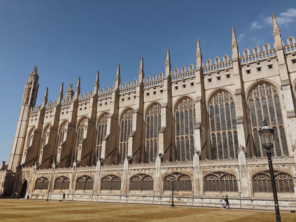 King's College Chapel in Cambridge, England