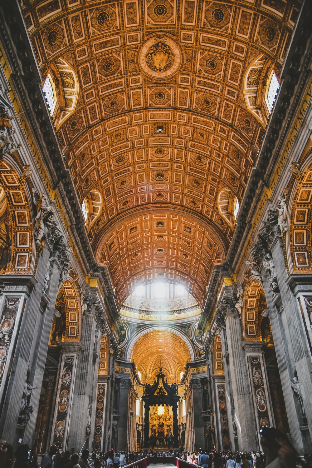 St. Peter's Basilica ceiling