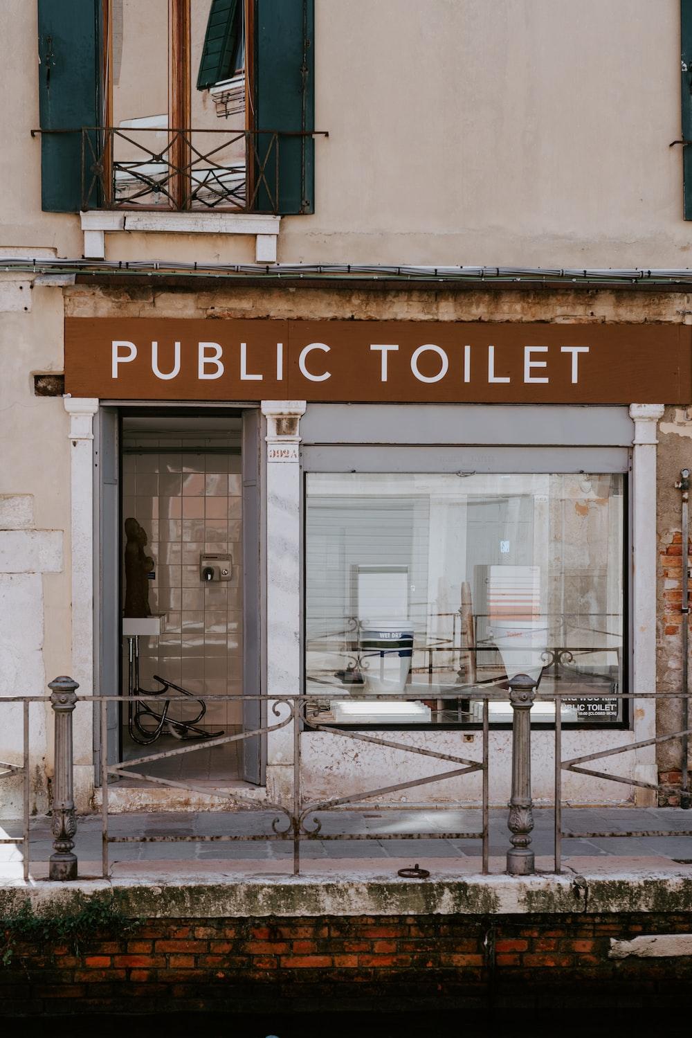 Public Toilet building