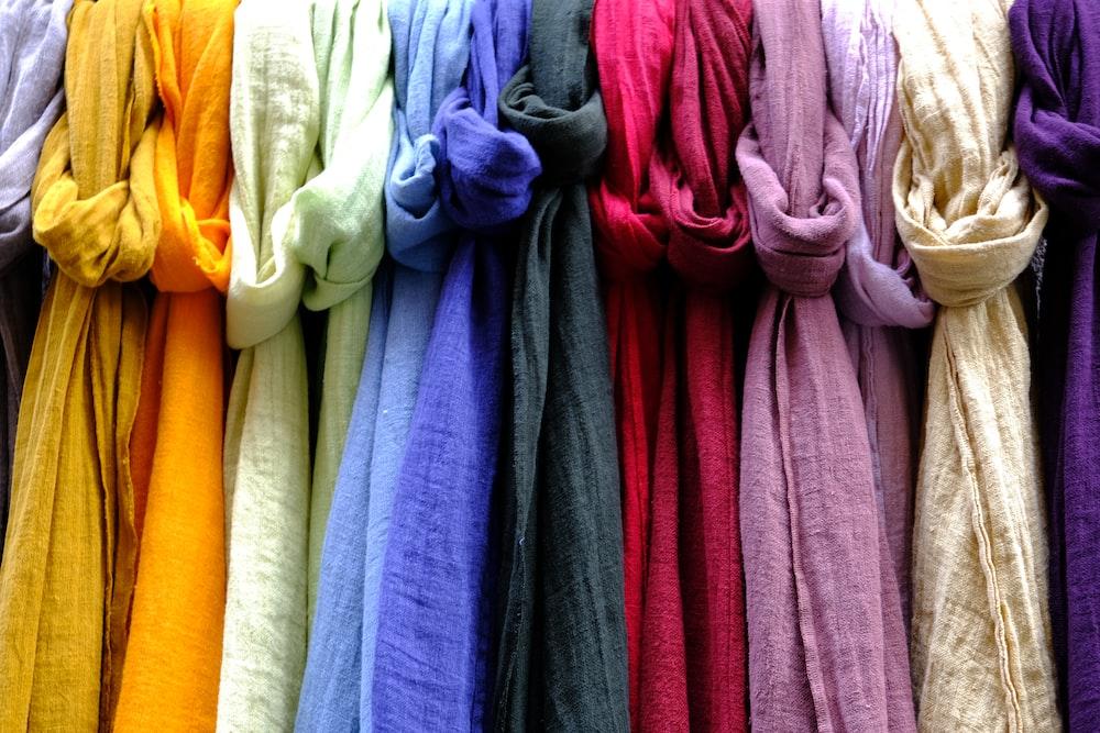 assorted-color cloth lot