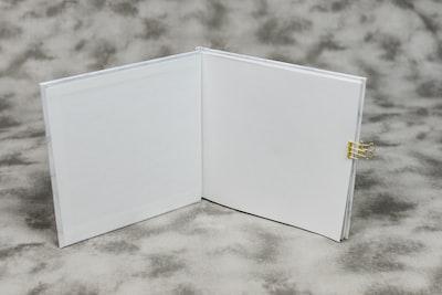 opened empty notebook