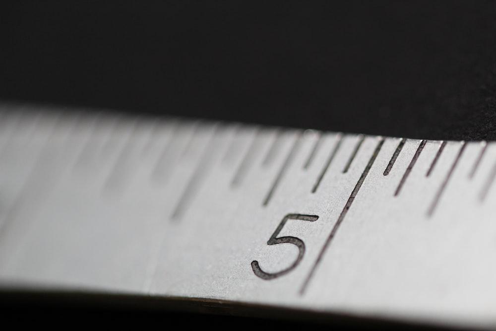white measure tape