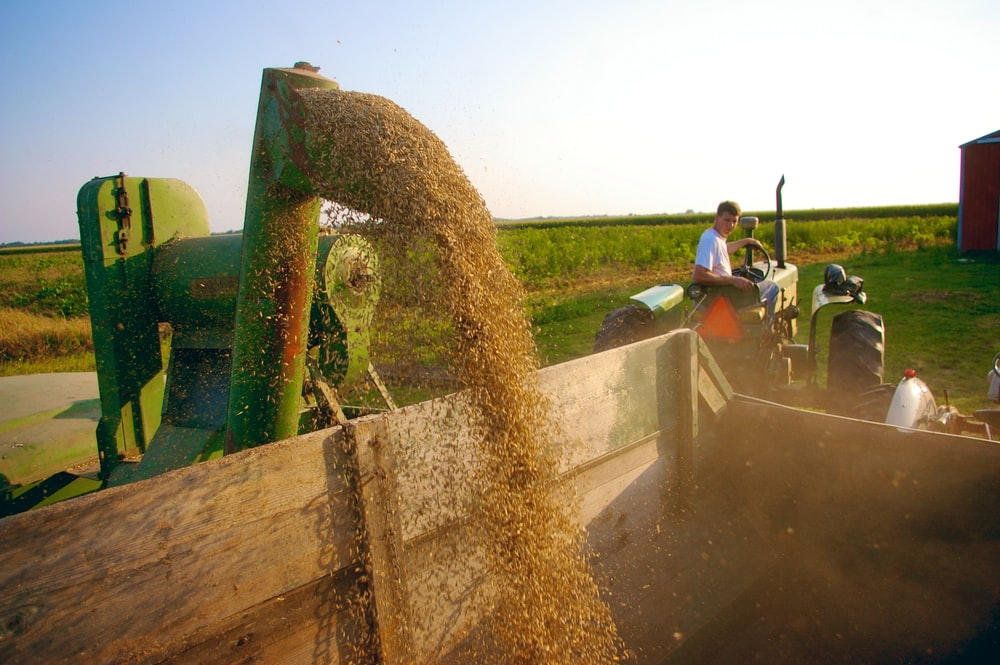 green farming equipmen