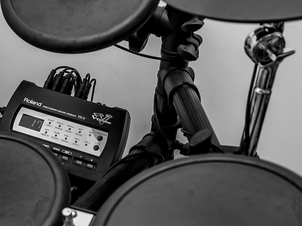 black Roland electric drum