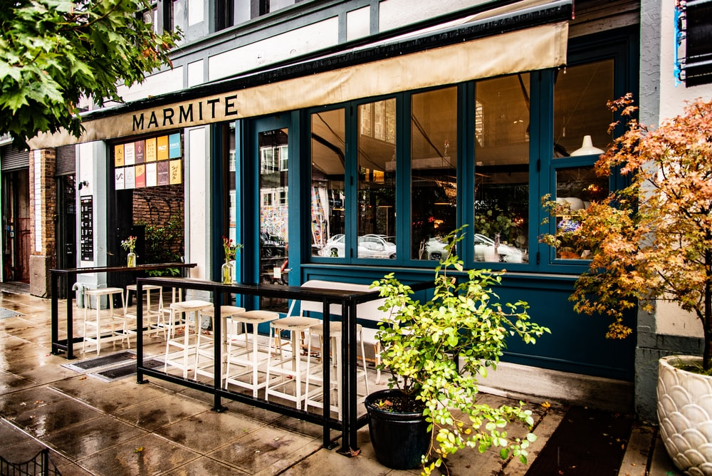 Marmite coffee shop during daytime