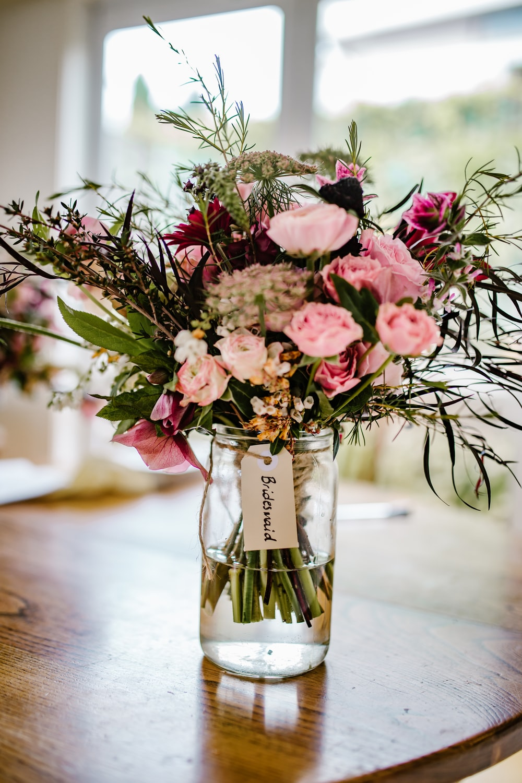 assorted flowers in vase