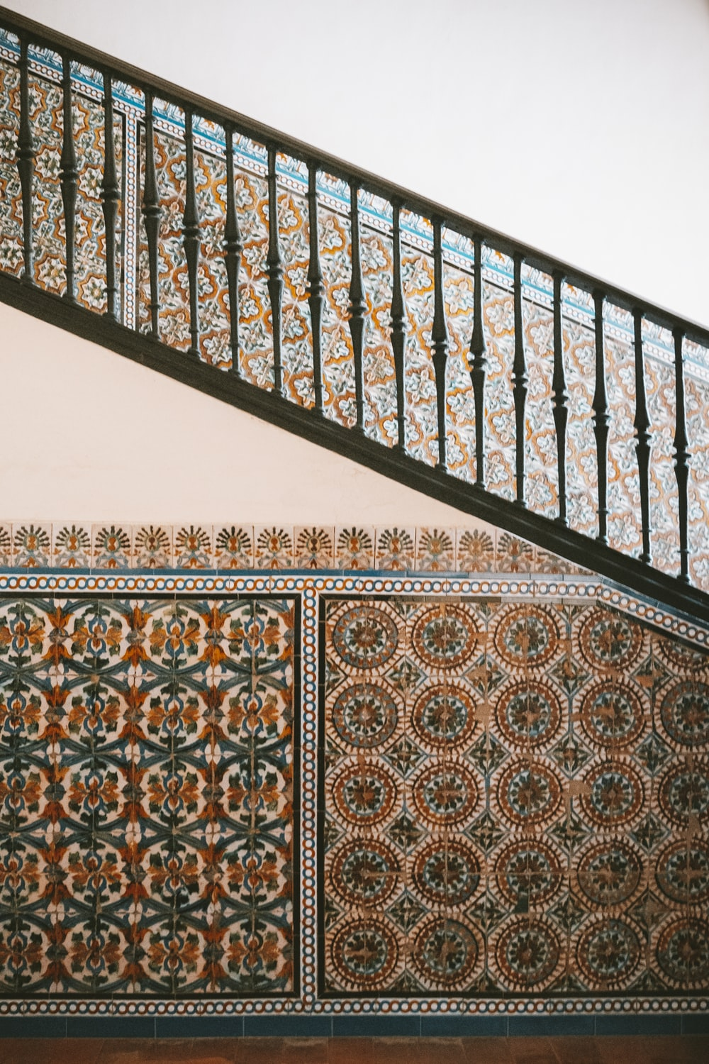 Moroccan design on the wall