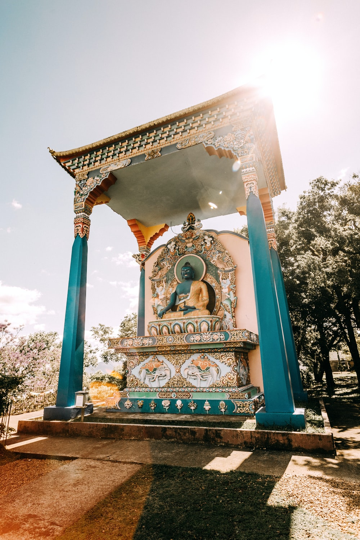Hindu God temple during daytime