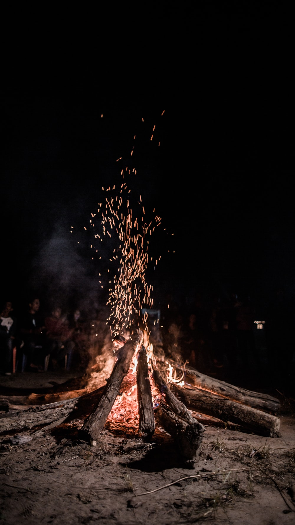 bonfire photograph