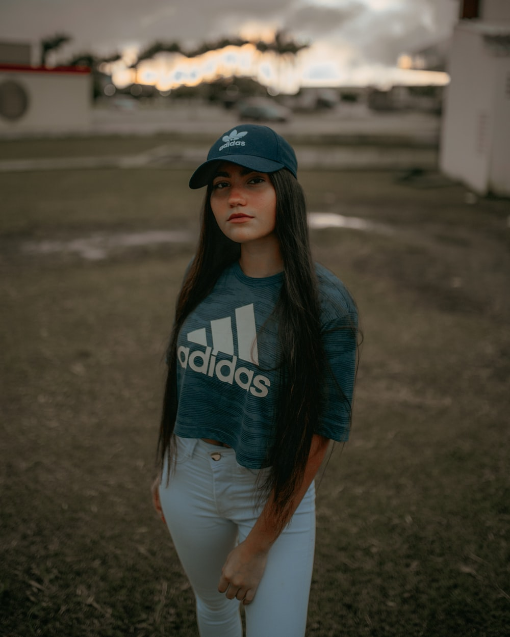 adidas shirt with jeans