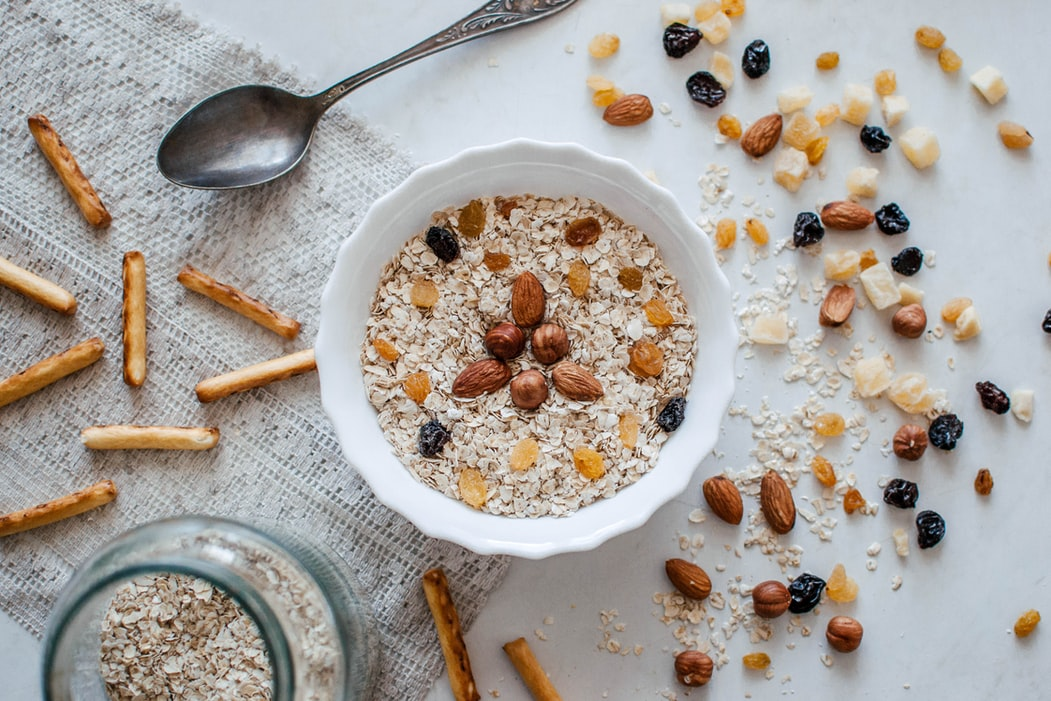 makanan bernutrisi imunitas pandemi oatmeal