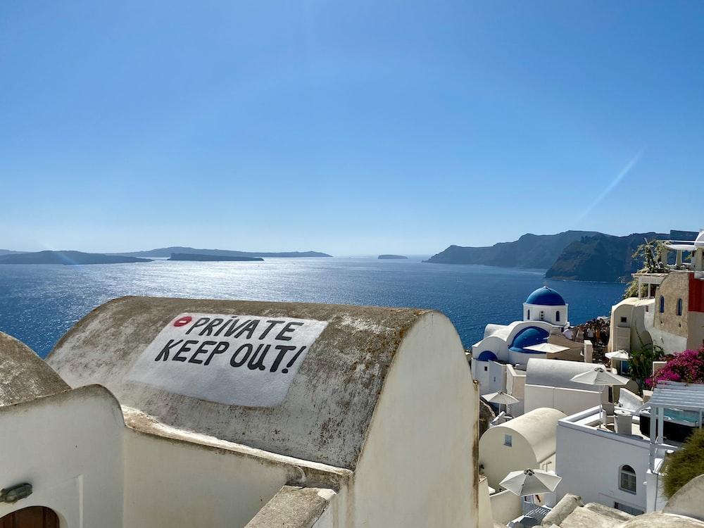 Santorini Greece during daytiem