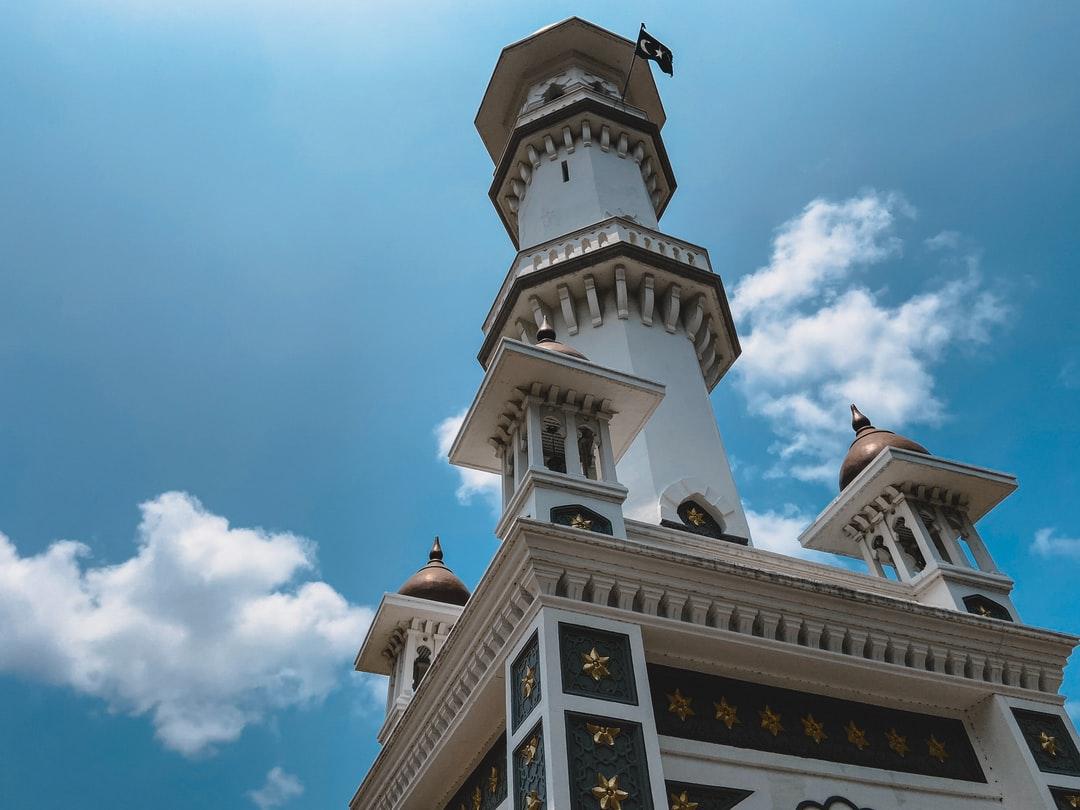 A mosque in Georgetown, Penang