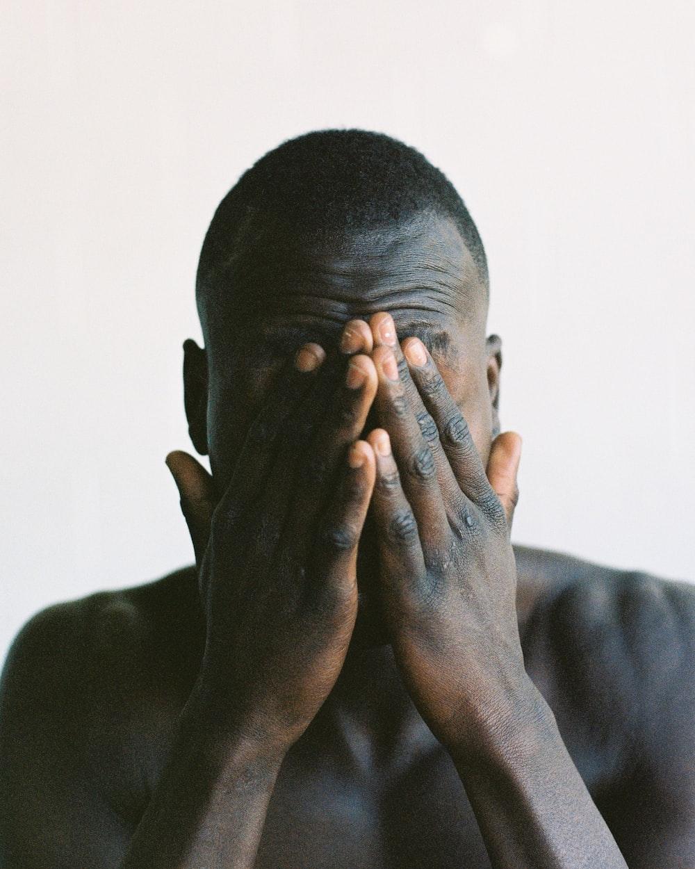 man face portrait