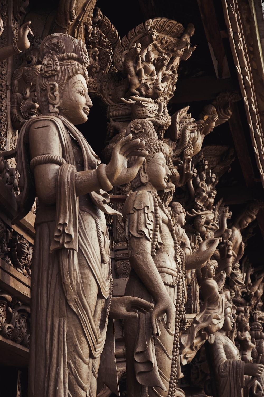Buddha figures