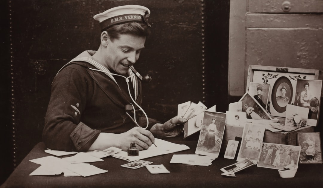 HMAS Australia, Rotary Photographic Series, 'The Only Girl I Ever Loved', 1914 -1918