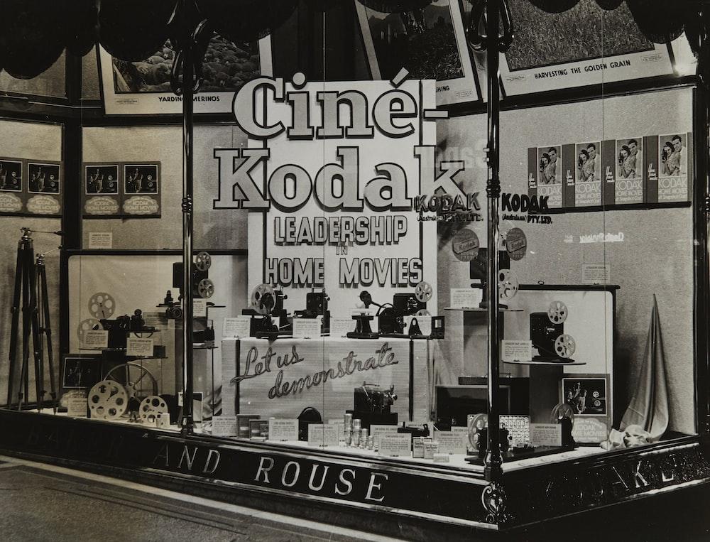 Kodak Shopfront Display