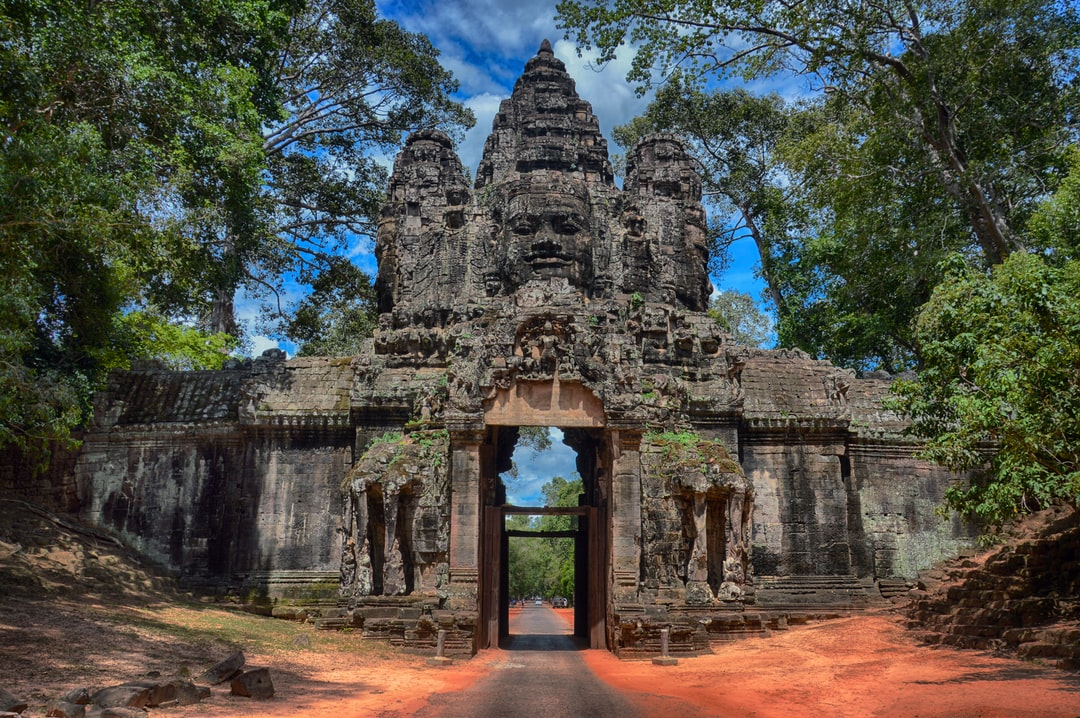 Angkor Thom East Gate, Siem Reap, Cambodia