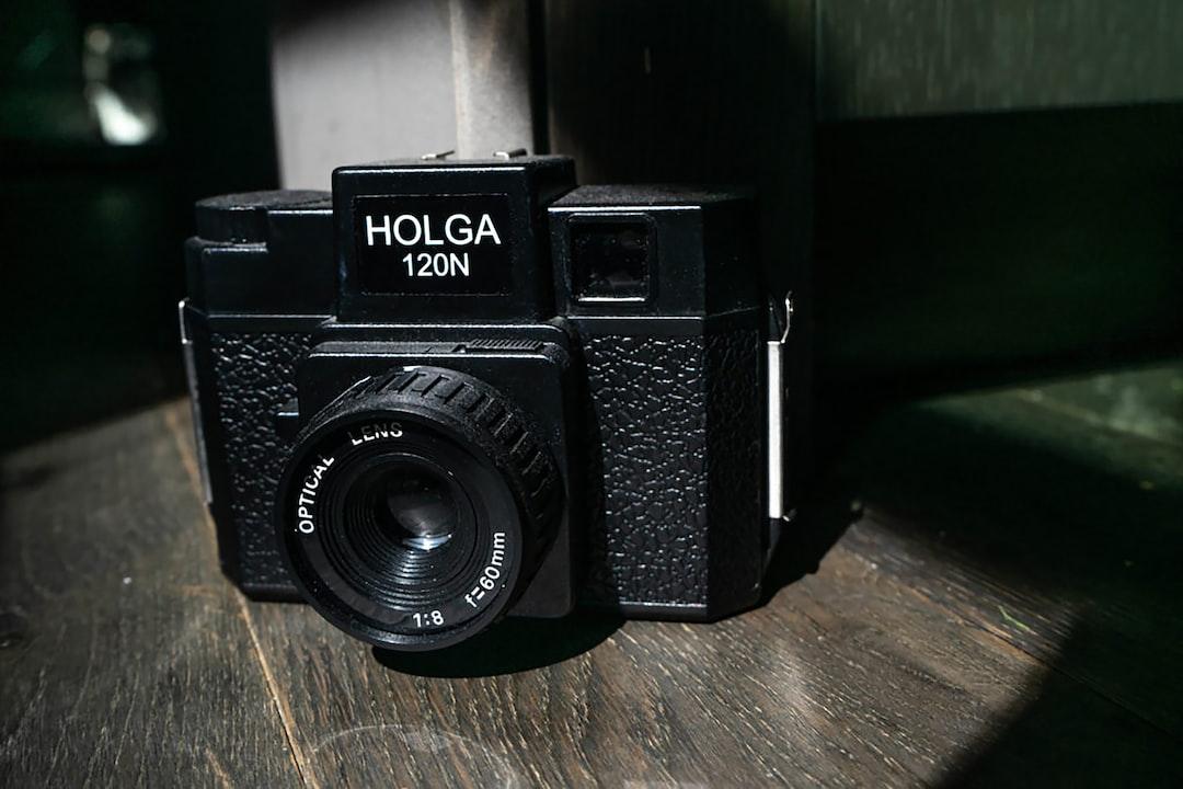 Holga 120N Medium Format Film Camera for Beginners