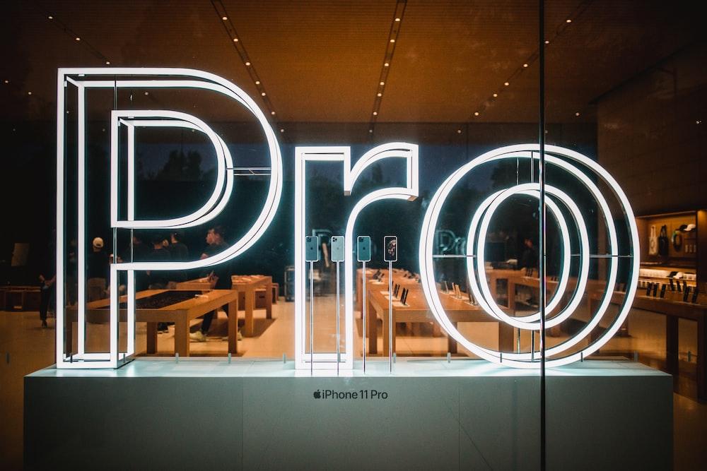 Pro LED sign