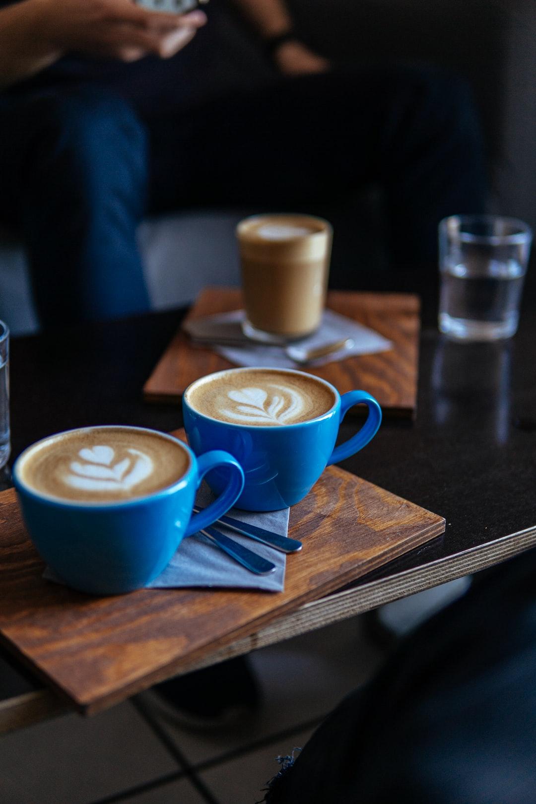 Double cappuccino please
