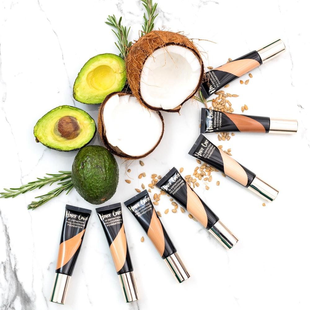 women's assorted cosmetics