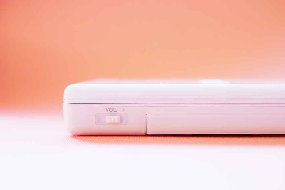 white Nintendo Wii game console