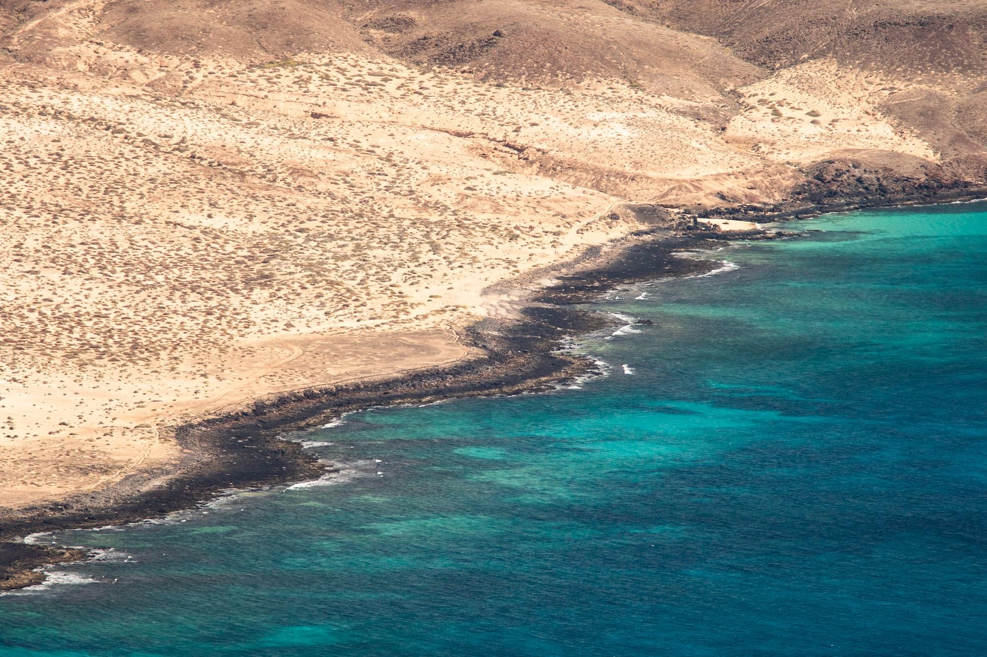Manrique's mirador view on Lanzarote island