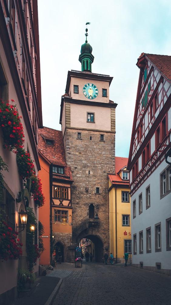 A street in Germany