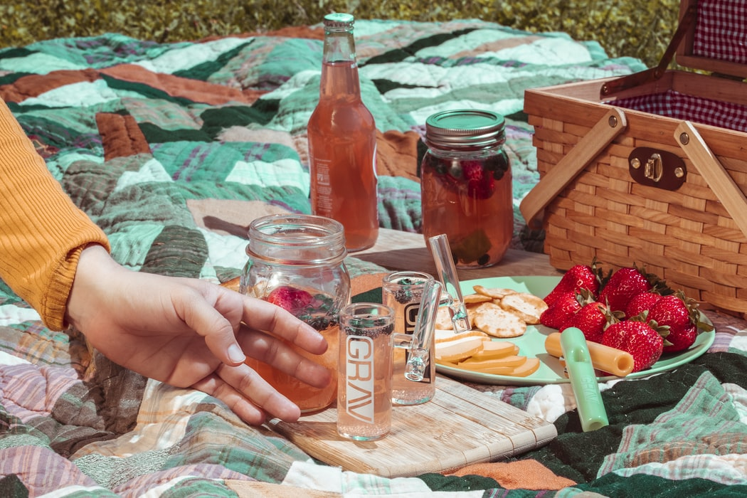 What to Pack in Picnic Basket on picnic blanket