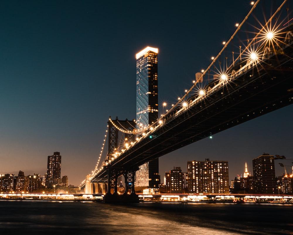 black and brown bridge bridge