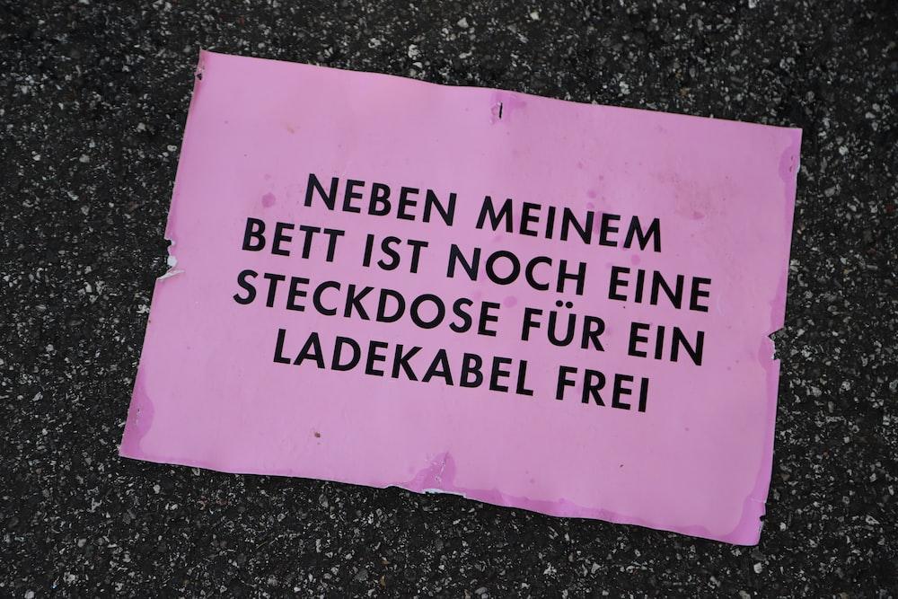 pink printer paper