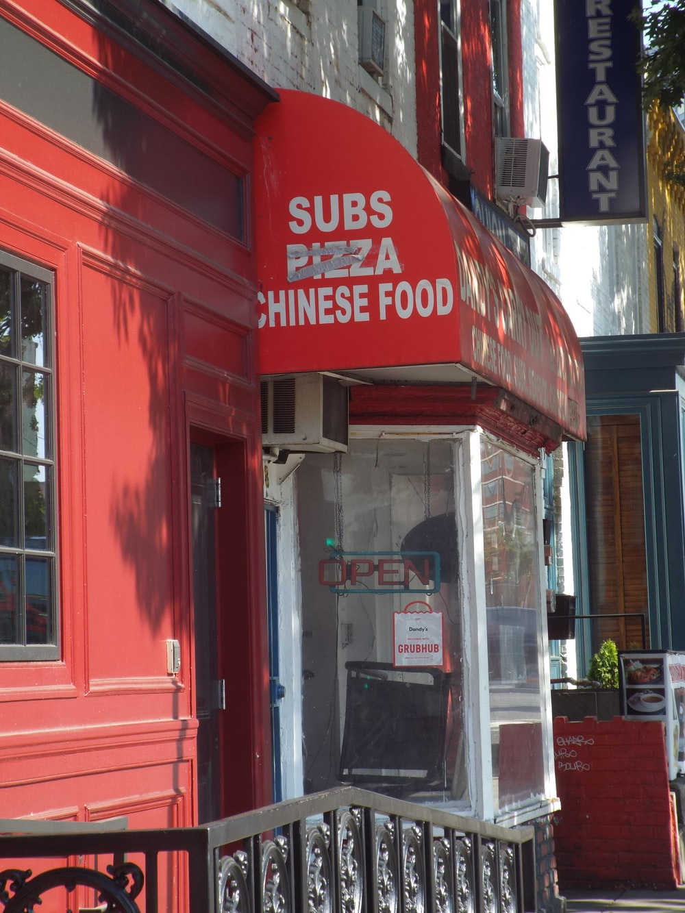 Subs Pizza Chinese Food stall