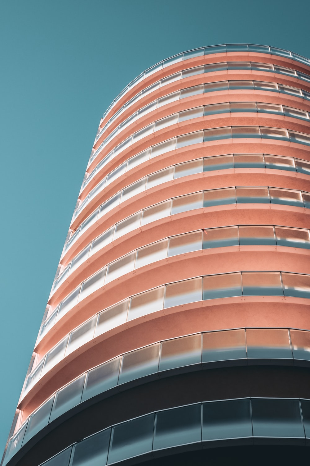 pink tower building