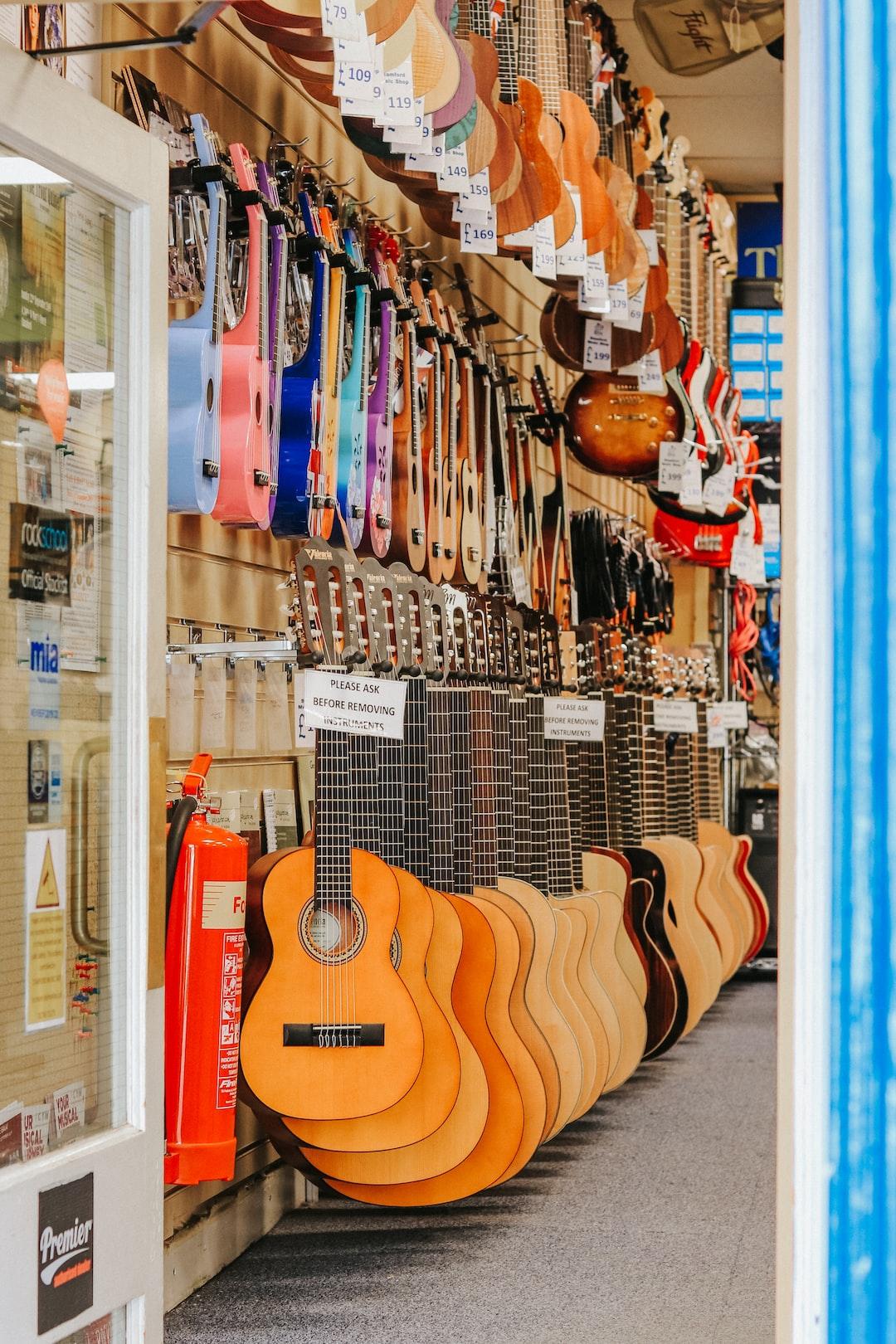 Guitars anyone?