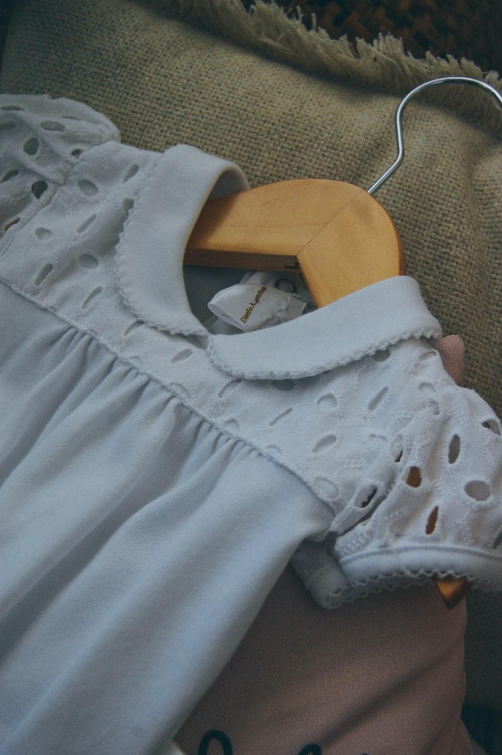blue collared dress