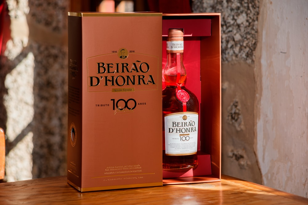 Beairao D'Honra bottle with box